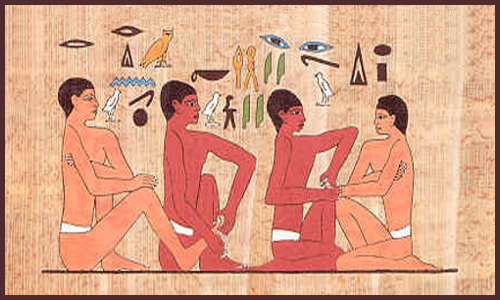 history massage therapy ancient civilizations