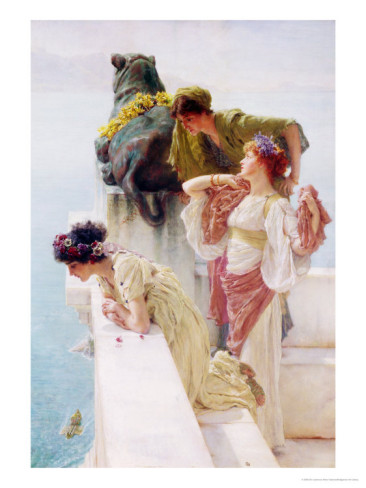 sir-lawrence-alma-tadema-a-coign-of-vantage-1895