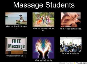 Massage Students